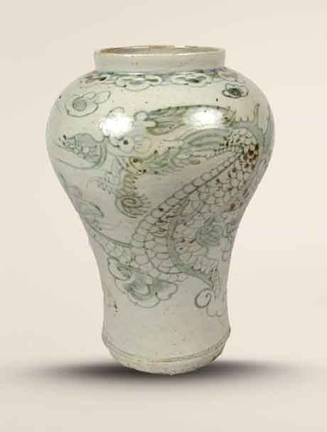 korean dragon jar